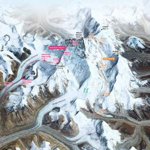 mt. Everest 3D-Modell